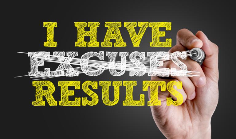 Stop met excuses, start met fit worden